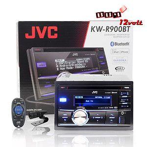 JVC KW R900BT In Dash AM/FM/CD Car Stereo Receiver w/ Bluetooth/USB