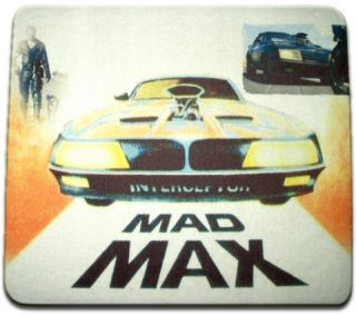 Interceptor Mouse Pad Mad Max The Road Warrior Gibson