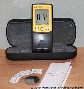 Paint Coating Thickness Meter Gauge Gage Car Truck   Damage Check Body