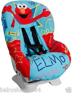 Sesame Street Elmo Car Seat Cover Baby Boys Girls