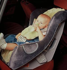 Sheepskin Baby Car Seat Cover Strollers Joggers Avail 12 Colors