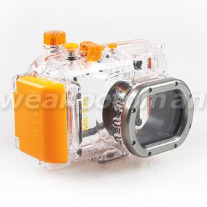 Waterproof Underwater Housing Camera Case Bag for Canon S95 40m 130ft