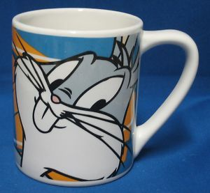 Bros Rabbit Looney Tunes Character Coffee Mug Cup Cartoon