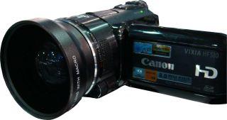 wide angle len for canon vixia hf g10 digital camcorder 58mm 100 %