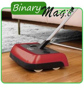 Ewbank Sweeper Manual Floor Carpet Rugs Hard Floors Cordless Evolution