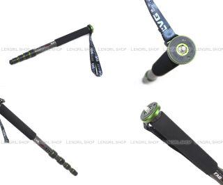 LVG MCX 215B Carbon Fiber Monopod for Camera New Green