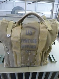 Military Tent Repair Kit Army Surplus Canvas Vinyl Canvas