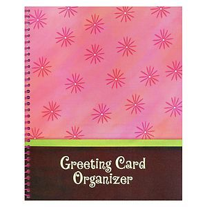 Greeting Card Organizer Book for All Occasion Cards New Seasons
