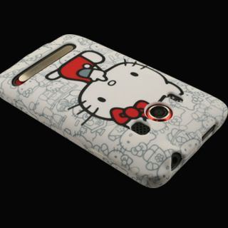 Case Car Screen Protector for HTC EVO 4G F Hello Kitty Cover Skin