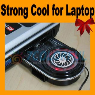 Notebook Laptop Vacuum USB Case Cooling Fan Cooler Pad