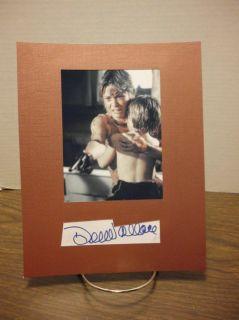 Dee Wallace Autograph Cujo Display Signed Signature COA Authentic