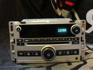 2010 Chevrolet Malibu CD Am FM Car Stereo Radio 25842777 OEM
