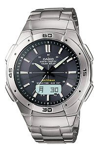 Casio Mens Solar Atomic Watch