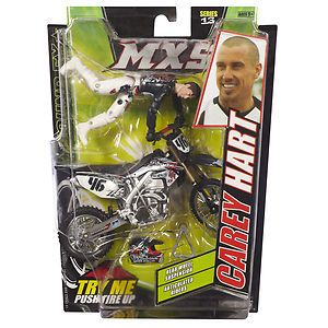 Carey Hart MXS Series 13 Dirt Bike Toys