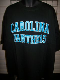 Carolina Panthers Heart Soul Black Big Tall Short Sleeve T Shirt Sz 6X