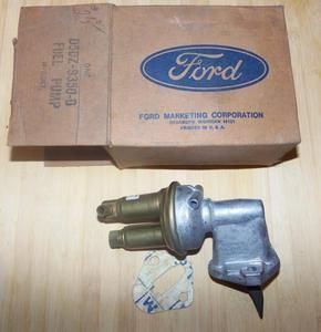 Ford Mercury 1975 Maverick Comet Granada Carter Fuel Pump D5DZ 9350 D
