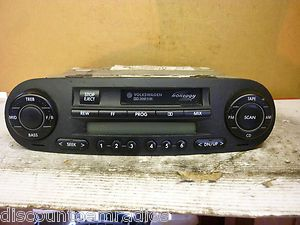 99 04 VW Beetle Radio Cassette Player Monsoon 1C0035157D