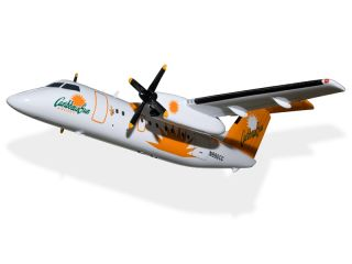 De Havilland Dash 8 Caribbean Sun Airlines BLANK 3