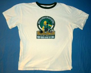 Funny Homer Simpson Bowling T Shirt Bowler Team Sport Cartoon Brand