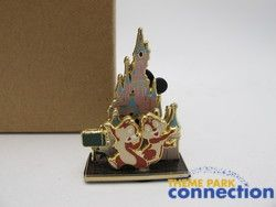 Diorama WDI Disneyland Paris Castle Chip Dale Imagineering Pin