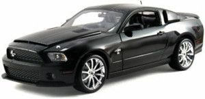 CARROLL SHELBY COLLECTIBLES 1 18 SCALE BLACK 2010 GT500 SUPER SNAKE
