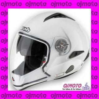 Casco Moto Jet Airoh J105 Color Bianco Lucido J114 Nuov
