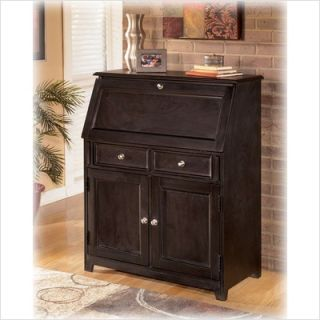 Wildon Home Carlyle Drop Front Secretary Desk H371 29