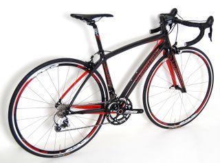 2013 STRADALLI Salerno 10 SPD Carbon Road Bike FSA Micro Shift BB30 SM
