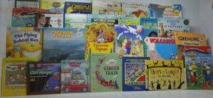 LOT OF 26 BOYS CHILDRENS BOOKS **DRAGONS, POKEMON, TRAINS, DINOSAURS