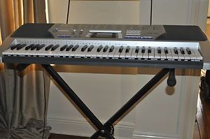 Casio CTK 496 100 Song Bank Keyboard with Stand