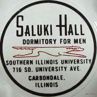 Southern Illinois University Advertising Ashtray Carbondale Old