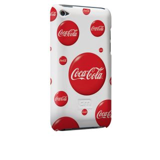 Case mate Coca Cola iPod Touch 4G Barely There Case   Classic Fizz