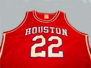 Drexler University of Houston Cougars Jersey Red New Any Size
