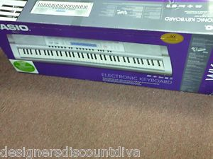 Casio WK210 76 Key Electronic Keyboard with Stand