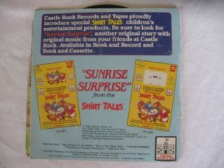 Vintage Castle Rock Shirt Tales Special Edition Read Along Book & 45