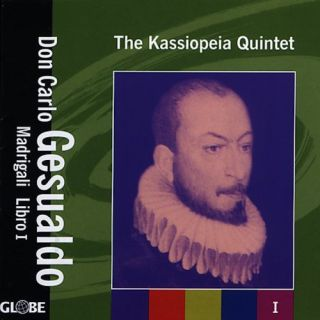 Gesualdo Don Carlo Gesualdo Madrigali Libro 1 New CD