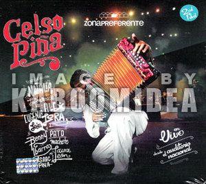 CD DVD Celso Piña Zona Preferente En Vivo Auditorio Nacional Pina