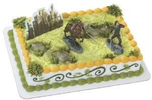 Narnia Prince Caspian Battle Cry Castle Birthday Cake Topper Toys
