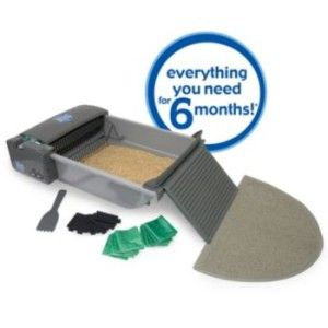 SmartScoop Deluxe Automatic Self Cleaning Cat Litter Box FREE SHIP