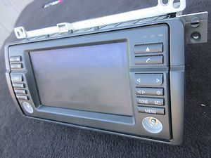 BMW E46 M3 OEM NAVIGATION SCREEN MONITOR CD PLAYER FOR PARTS!!