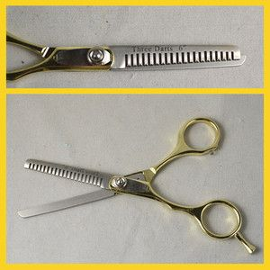 Pet Dog Cat Grooming Stainless Steel Thinning Scissors Shears 6