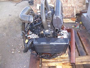 Yanmar 3TNE84 Diesel Engine Take Out Fan to Flywheel