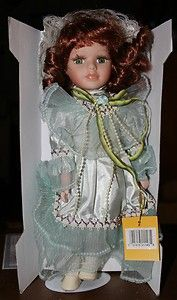 Cathay Collection Musical Porcelain Doll