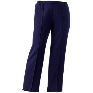 Cathy Daniels Navy Blue Pull on Pant Women Plus 1x and 2X $48 NWT