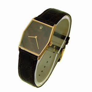 Vintage Rolex Gents 18ct Gold Cellini Dress Watch C1985