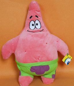 Amzaing Spongebob Cartoon Character Patrick Star Plush Doll Toy 20