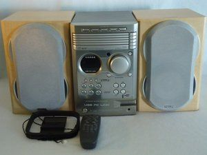 Home Stereo System MCM530/37 5 CD Changer,  Player, AM/FM Stereo