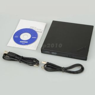 Slim External Dual Layer USB 2 0 DVD Combo CD RW Burner Drive CD±RW