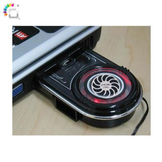 New Notebook Laptop Vacuum USB Case Cooling Fan Cooler Pad