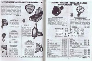 Cycle Supply Antique Bicycle Catalog Pierce and Rollfast Bikes